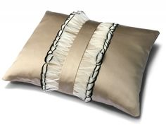 Dip Dye Feather Cushion