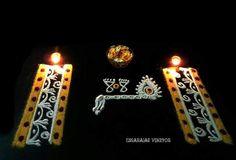 Janamashtami rangoli by Umarajas vibgyor