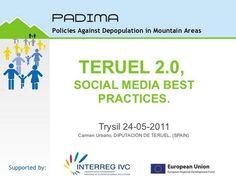 Marketing Internacional y Comercio Exterior. Internacionalización.: Teruel internacional: Social Trip #sienteTeruel Semana Santa y Ruta del Tambor. Teruel ya despuntaba en las redes...
