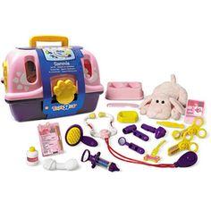 girls veternarian toy   Toys R Us Plush Pink Veterinarian Kit Image