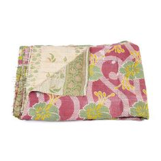 Vintage Sari Quilt now featured on Fab.