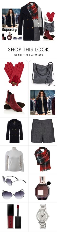 """""""The Cover Up – Jackets by Superdry: Contest Entry"""" by lence-59 ❤ liked on Polyvore featuring Gizelle Renee, Ina Kent, Superdry, Victoria, Victoria Beckham, Victoria Beckham, Viktor & Rolf, Smashbox and MICHAEL Michael Kors"""