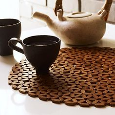 Round Bamboo Placemat - west elm