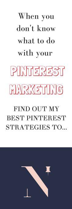 Pinterest marketing strategies I Pinterest tips for business I www.nellaino.com/blog