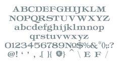 Letterform Design Font / LHF Squeexebox Glyph Set / Vintage, Decorative Roman Font