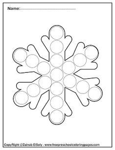 happy new year winter dot marker free printables preschool coloring pages ,do a dot marker activity for kids New Year Coloring Pages, Preschool Coloring Pages, Coloring Sheets For Kids, Coloring Pages For Kids, Preschool Christmas, Preschool Crafts, Winter Crafts For Kids, Art For Kids, Dots Free
