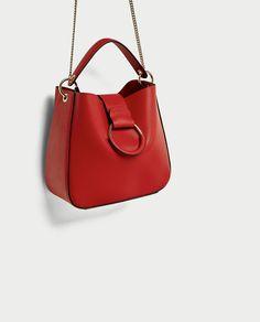 ZARA - WOMAN - MEDIUM BUCKET BAG WITH HOOP