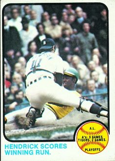 AL Playoffs Card 1973 - Topps  Card Number: 201