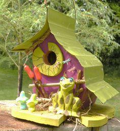 Life is a Pond Birdhouse by papajonsflyinns