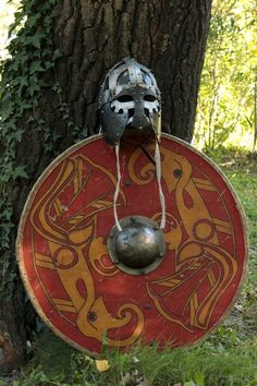 Great shield, and helmet. http://pagan-pride.tumblr.com/
