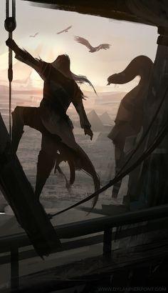 Assassin's Creed: Egyptian Sketch by DylanPierpont.deviantart.com on @deviantART