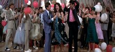 Marty's green dress in Grease