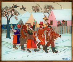 Folk Art, Illustration, Pictures, Fictional Characters, Jar, Paintings, Glass, Carnavals, Photos