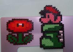 Super Mario hama perler beads by Sonja Ahacarne