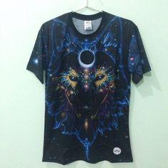Fox Space Galaxy Art Full Printed T-Shirt (M-XL) #CustomClothing #PersonalizedTee #T-Shirt #green #wave #artistic #pattern #fullprint #artwork #design #fashion #tees #clothing #men #women #tshirt #illuminati #horus #tribal #artistic #fox #galaxy #animal #wolf #stars