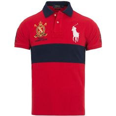 Ralph Lauren Polo Shirts ( 63) ❤ liked on Polyvore featuring men s fashion,  men s 472998cc036