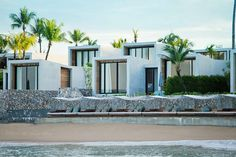 Casa de La Flora is a modern beachfront resort designed by VaSLab Architecture, located along a palm tree lined beach in Khao Lak, Phangnga, Thailand. Beach Hotels, Beach Resorts, Hotels And Resorts, Design Hotel, Khao Lak, Flora, Hotel Spa, Architectural Elements, Architecture Design