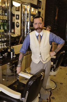 Tommy Guns Founder Russell Manley Gives Good Hair: The Classic Short Back and Sides, a.k.a. The Mad Men Look