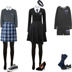 Outfit Inspiration: Ravenclaw Pride - Dream wardrobe - Women in Uniform Harry Potter Oc, Harry Potter Cosplay, Harry Potter Style, Harry Potter Outfits, Ravenclaw Scarf, Ravenclaw Quidditch, Ravenclaw Memes, Ravenclaw Colors, Hogwarts Uniform