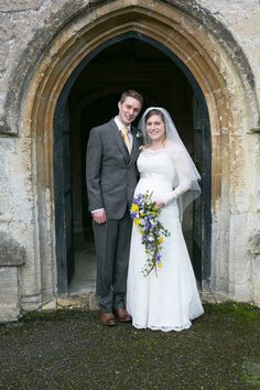 A Lovely Relaxed Late Winter Wedding for a Pregnant Bride and her Beau