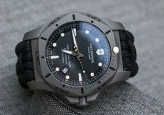 Victorinox Swiss Army INOX Professional Diver Titanium Watches Hands-On Army Watches, High End Watches, Seiko Watches, Sport Watches, Cool Watches, Watches For Men, Field Watches, Wrist Watches, G Shock