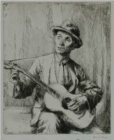 Man Playing Guitar, 1923. Visit South Africa, Playing Guitar, Painting, Art, Kunst, Art Background, Painting Art, Paintings, Performing Arts