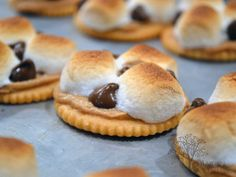 Ritz s'mores - oh my goodness!
