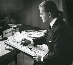 Young Karl Lagerfeld
