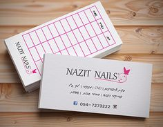 """Check out new work on my @Behance portfolio: """"Business card for nails salon"""" http://be.net/gallery/58786449/Business-card-for-nails-salon"""