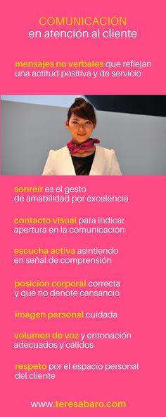 lenguaje no verbal, atención al cliente, actitud positiva, actitud servicial