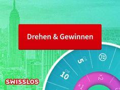 Drehe am Swisslos Glücksrad über 64'000 Swisslos Spielguthaben im Gesamtwert von 470'000.-!  Zusätzlich kannst du 3 Städtereisen für 2 Personen nach Dubai, Paris oder New York im Wert von je 4'000.- gewinnen.  Nimm hier am Wettbewerb teil: http://www.gratis-schweiz.ch/gewinne-swisslos-spielguthaben-im-gesamtwert-von-470000/