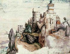 nach Albrecht Dürer - Fortified Castle