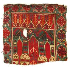 Turkish Konya Rug 17th Century