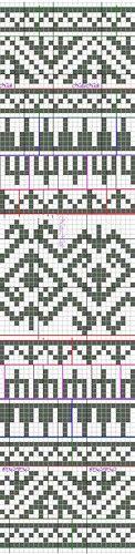 jacquard pattern from Peru