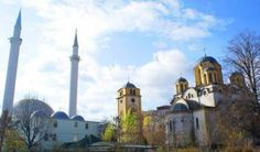 Religious tolerance is so bad that mosques and churches share the same yard 16 Photos Proving That Kosovo Is Just Another War-Torn Country Religious Tolerance, Catholic News, State Police, Vatican, Public Relations, Christianity, Muslim, Paths, Rome