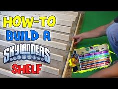 How to Build a Skylanders Collection Shelf - YouTube