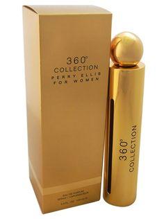 360º Collection de Perry Ellis para dama, disponible en 100 ml Eau de Parfum.  $550.00