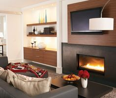 Cosy TV room | Photo Gallery: Budget Basement Decorating Tips | House & Home | photo Michael Graydon