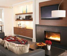 Cosy TV room | Photo Gallery: Budget Basement Decorating Tips | House & Home | photo Michael Graydon