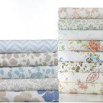 Lilac 100% Cotton Sheet Set