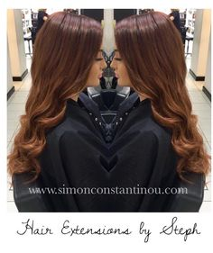 This Stunning rich copper transformation by Steph was created by using a full head of hair extensions & finished with beautiful waves Book a complementary consultation with Steph by calling 02920461191 O.Constantinous & Sons. 99 Crwys Rd Cardiff. CF24 4NF #simonconstantinou #behindthechair #modernsalon #hairextensions #copperhair #ghd #iamgoldwell #goldwell @goldwelluk