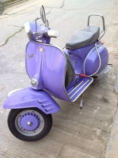 Vespa #sheer_lilac   For ME!   Purple, Purple aesthetic, Vespa