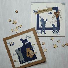 Greeting Cards, Cards, German Men