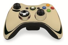 Custom Xbox 360 Controller  Wireless Glossy Half-Green Beige-And-Half-Fir Green- Without Mods