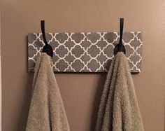 Image result for gray and brown moroccan bathroom
