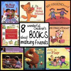 8 Wonderful Children's Books about Making Friends