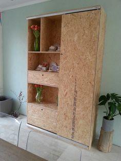Osb kast. By Home Inc. #interiordesign #styling #osb