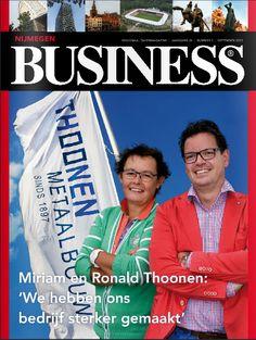 Vormgeving van het Nijmegen Business - www.nijmegen-business.nl - Check het blad op: http://www.nijmegen-business.nl/editie/september #design #3AMI