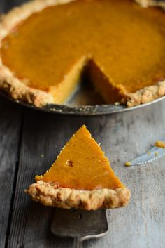 Pumpkin Pie - Buttered Side Up. -this is the pie I made last year and it's fantastic!