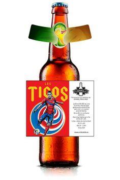 #cerveza La cerveza del mundial, apoya la selección de fútbol, personaliza las etiquetas de cerveza con imagenes de tu equipo. En 72 horas tienes las cervezas frias en tu nevera. www.mibotella.es